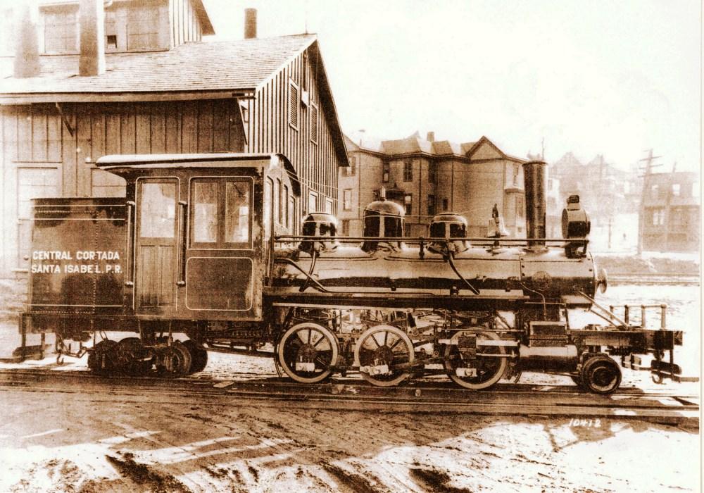 Las locomotoras de la Central Cortada y Florida