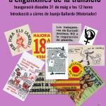 Inauguració exposició d'enganxines de la transició dia 31 – Assemblea Ateneu dia 30