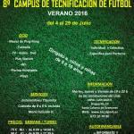 8º Campus de Tecnificación de Fútbol