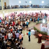 Comunidade paroquial comemora o dia da padroeira