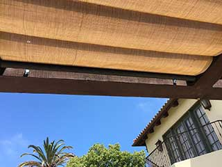 outdoor patio shades in santa monica