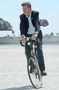 Kevin McKeown on bike