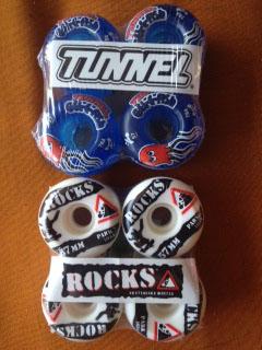 Skate Board Wheels – Rocks