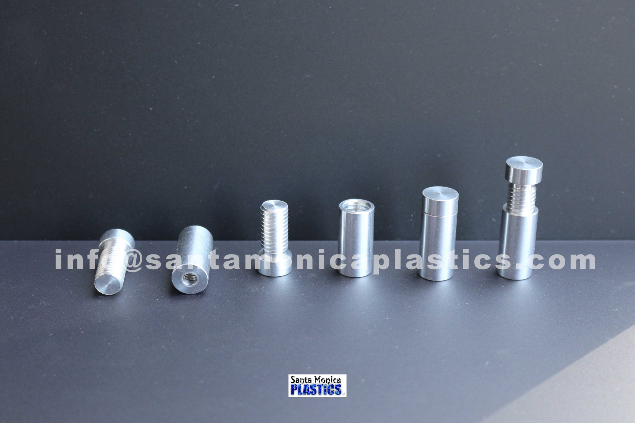 "Aluminum Standoffs #2 Size 0.5"" X 1.25"" (4 Pieces)"