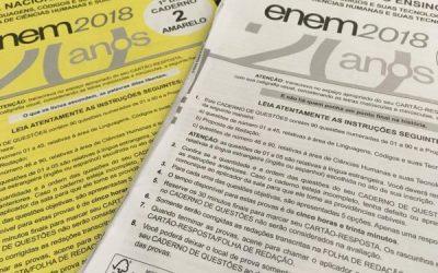 Prova do Enem será aplicada em versão digital a partir de 2020