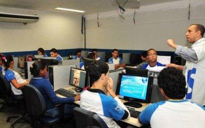 Telecentro abre vagas para curso de informática