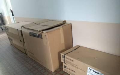 Cemig doa equipamento de esterilização para o Manoel Gonçalves