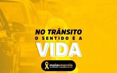 Campanha de prevenção de acidentes de trânsito Maio Amarelo tem ações em Itaúna