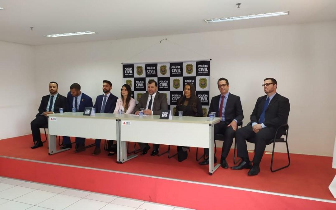 Região Centro-Oeste de Minas recebe sete novos delegados