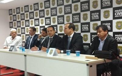 Em cerimônia Polícia Civil destina cinco investigadores para Itaúna