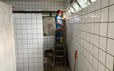 Banheiros da Rodoviária passam por reformas