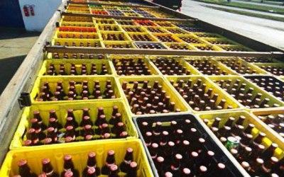 Carga de bebidas avaliada em R$ 130 mil é apreendida