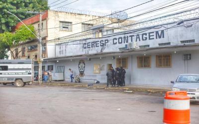 Presos fogem do Ceresp de Contagem