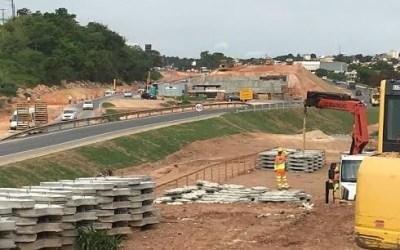 Por causa de obras retorno na MG 050 será desativado provisoriamente