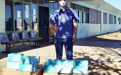 Itaúna recebe doação de mais 2 mil mascaras
