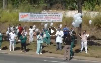 Amigos do Hospital Manoel Gonçalves fazem homenagem para Libério Tadeu
