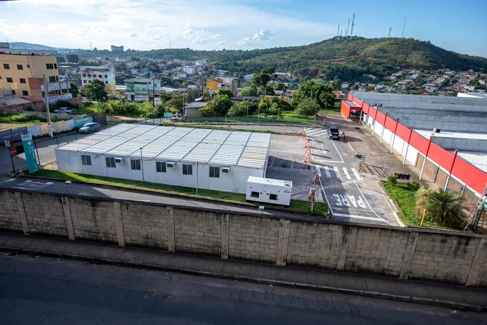 Hospital de Campanha está com 100% dos leitos de enfermaria ocupados em Divinópolis