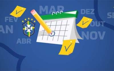 CBF divulga calendário com Copa do Brasil e Série A até fevereiro