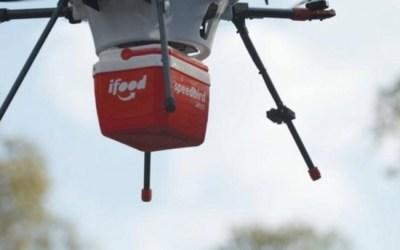 iFood começará a testar delivery de comida por drones em breve