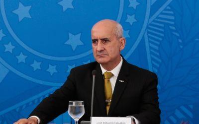 Ministro Luiz Eduardo Ramos testa positivo para covid-19