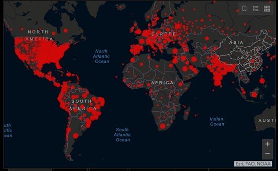 Mundo tem mais de 40 milhões de casos de coronavírus