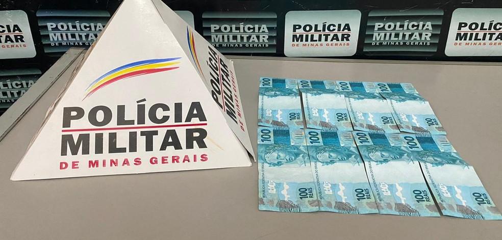 Rapaz é detido após fazer compras com notas falsas de R$ 100 em Igaratinga