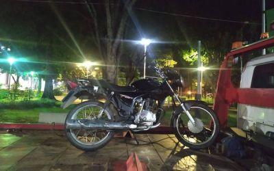 Homem é preso com motocicleta roubada em Itaúna