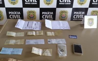 Suspeito de estelionato é preso ao tentar subornar policiais