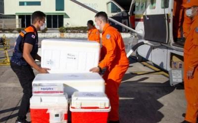Governo distribui mais de 47 mil doses para a região; Itaúna recebe mais de 3.800