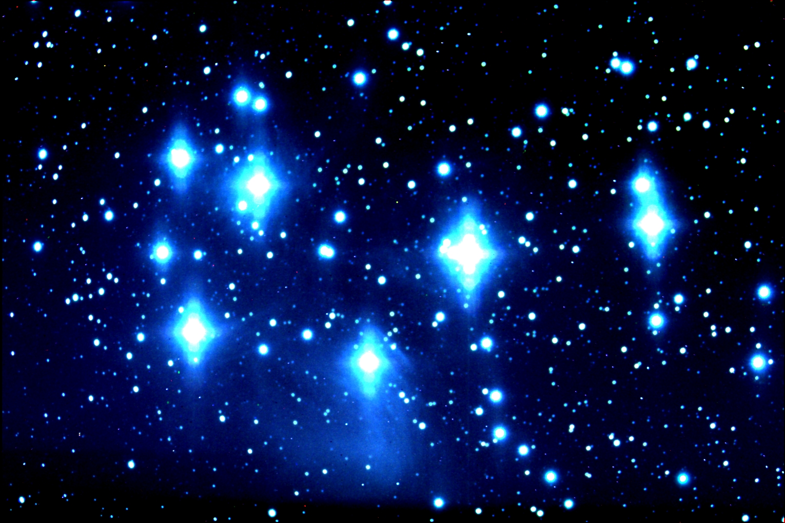 The Seven Sisters Of The Pleaides