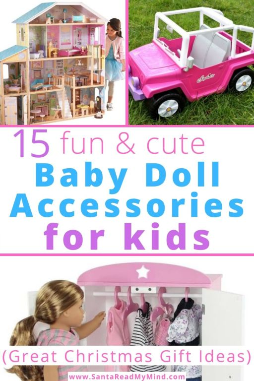 15 fun Baby Doll Accessories for Kids that'll make great christmas gifts