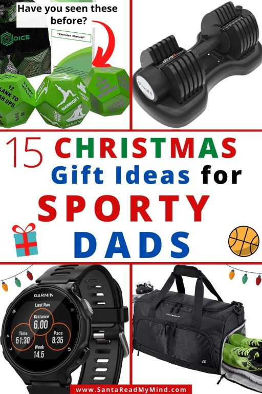 Christmas Gift Ideas for Dads that Love sports or working out