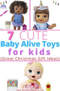 7 cute Baby Alive Toys for Kids