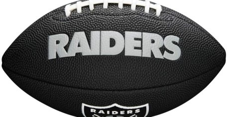 Gift Ideas for Las Vegas Raiders Fan - a mini football to toss around with friends and family