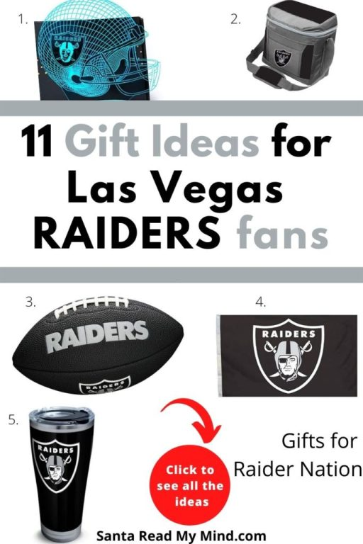 11 Christmas Gift Ideas for Las Vegas Raiders Fans - Gifts for Raiders Fan and Raider Nation