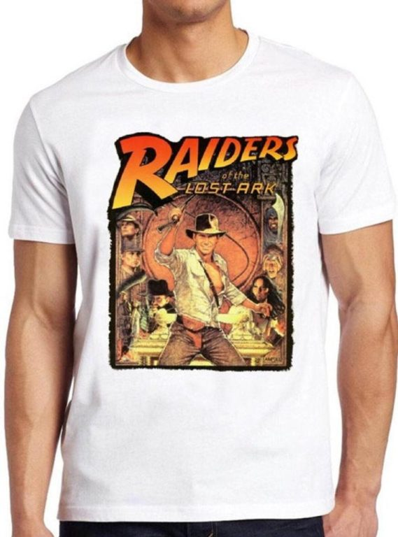 Indiana Jones gift ideas - gifts for INdiana Jones fans - Raiders of the lost ark t shirt