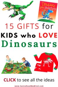 Gifts for kids who love dinosaurs