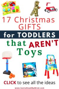 gifts for toddlers that aren't toys