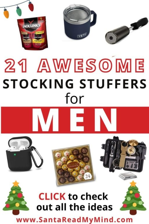 21 Awesome Stocking Stuffers for Men