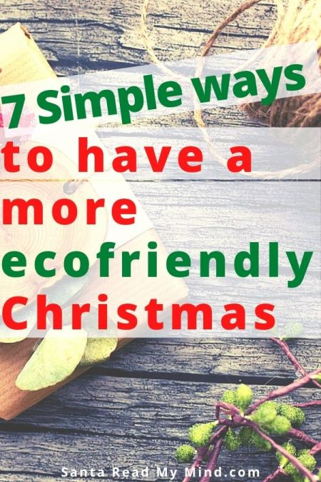 7 Simples ways to have a more ecofriendly Christmas