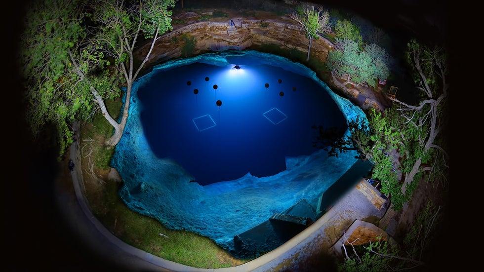 About Santa Rosa Blue Hole