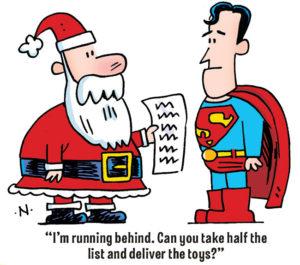 Christmas Joke with Superman