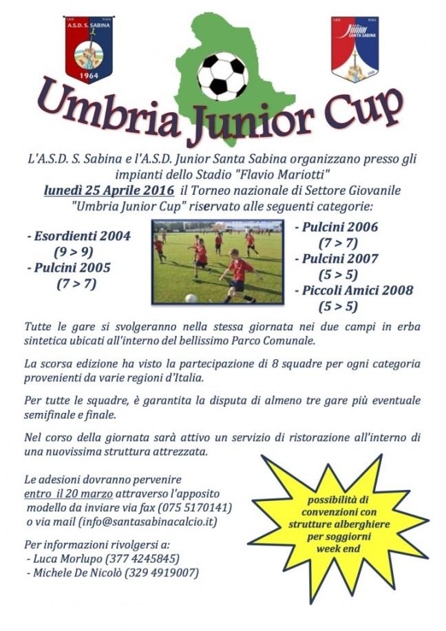 invito Torneo Umbria Junior Cup