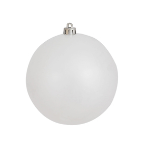 White Christmas Ball Ornaments