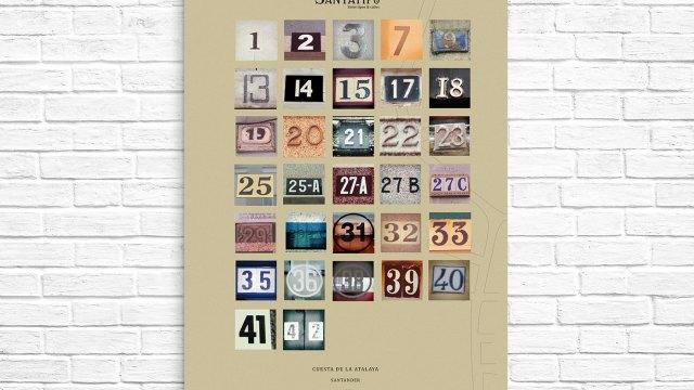 Números de la Atalaya [Poster]