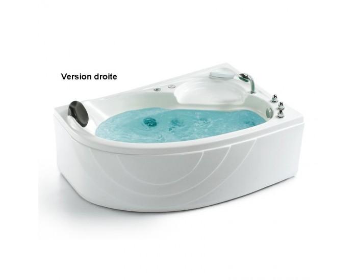 baignoire de balneotherapie 2 places luxe avec angle gauche ou droite