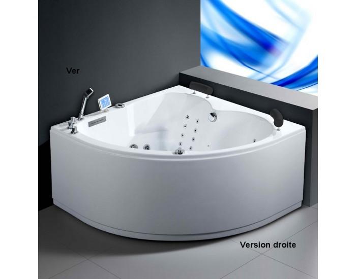 decouvrez la baignoire balneo d angle pour deux personnes a bon prix