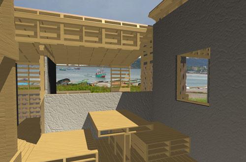 Une cabane en palettes pour 364 euros (500$)