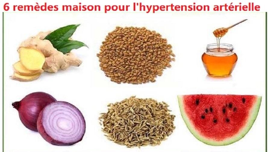 6 remèdes maison pour l'hypertension artérielle