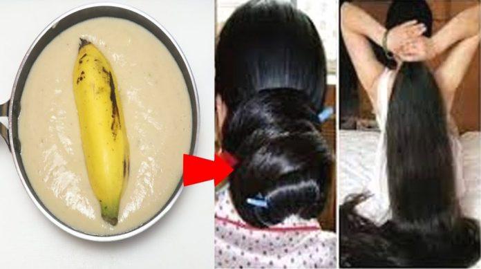 bananes pour avoir les cheveux épais
